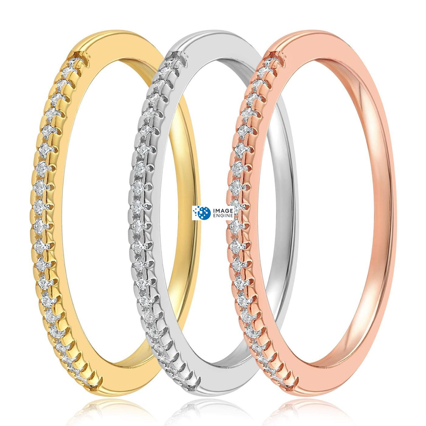 Brianna Bezel Ring - SideBy Side - Collection
