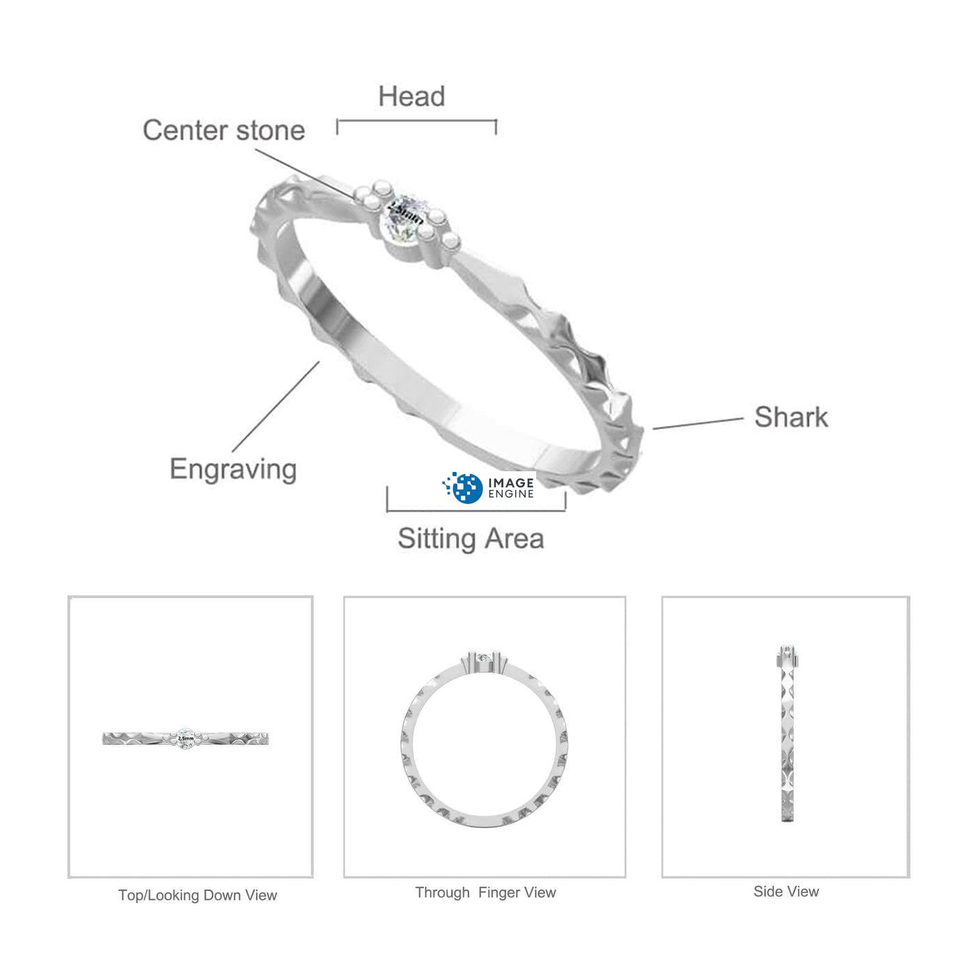 Charisse Ring Diagram and Specifications