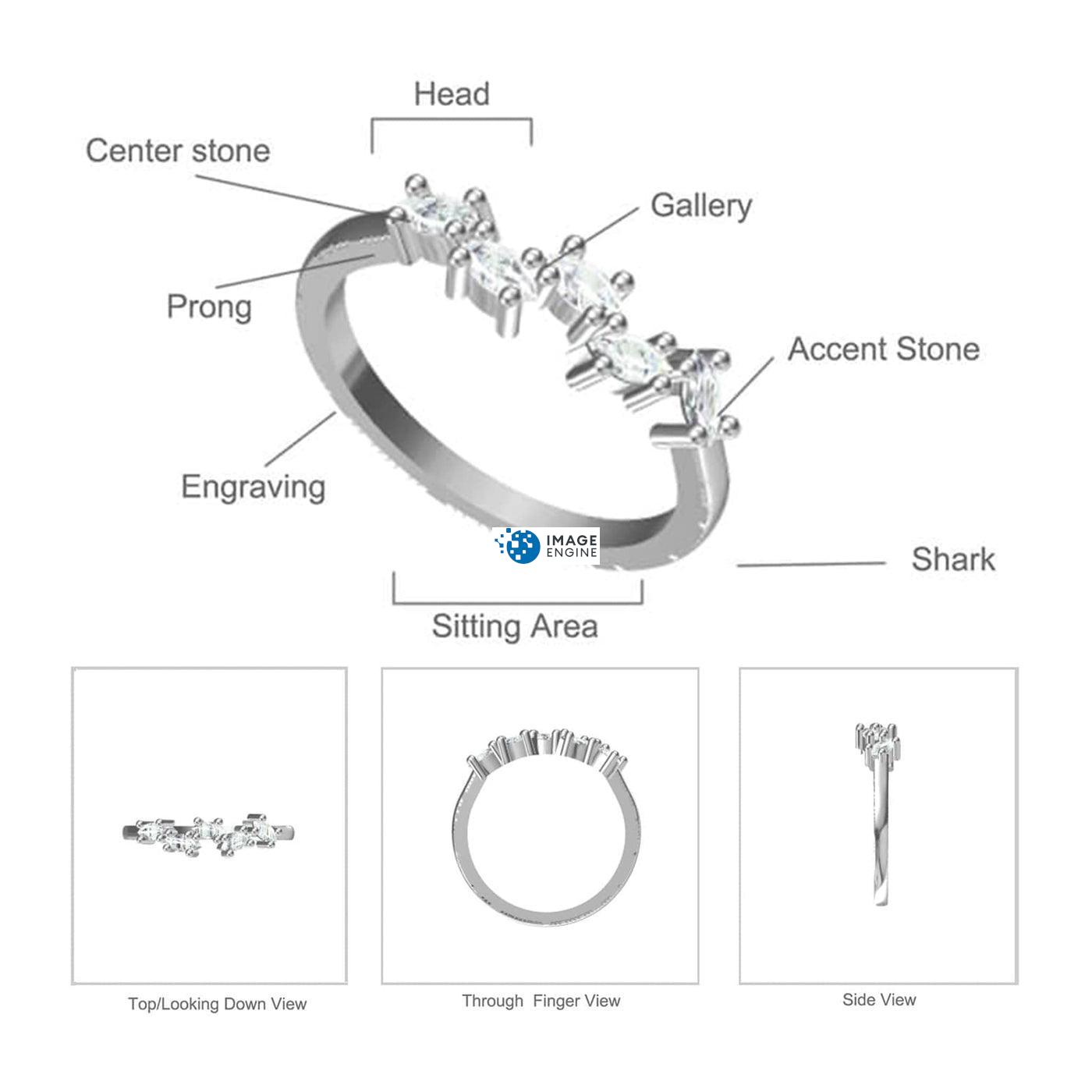 Genna Round Cut Ring - Parts - Diagram