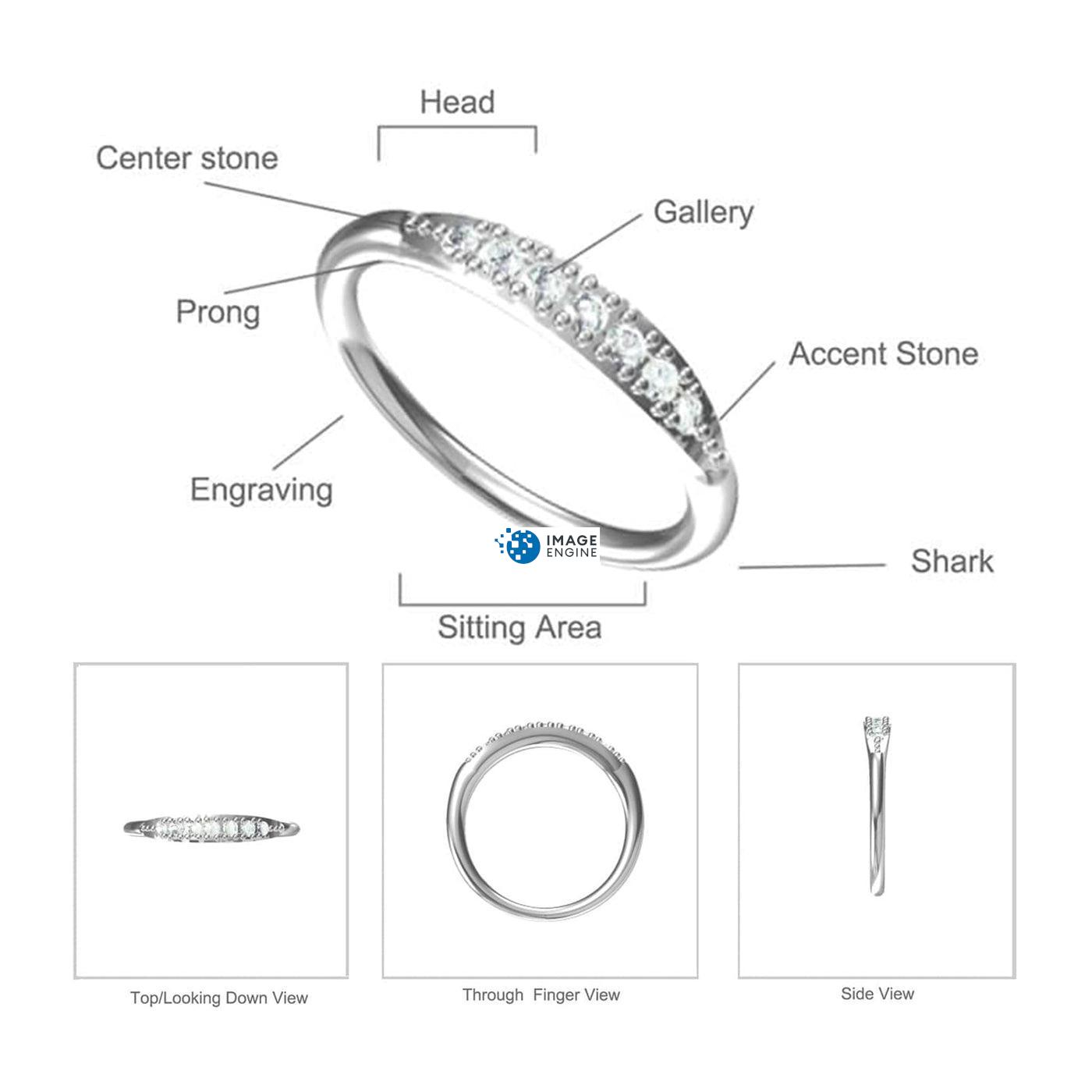 Kathleen Stack Ring - Parts - Diagram