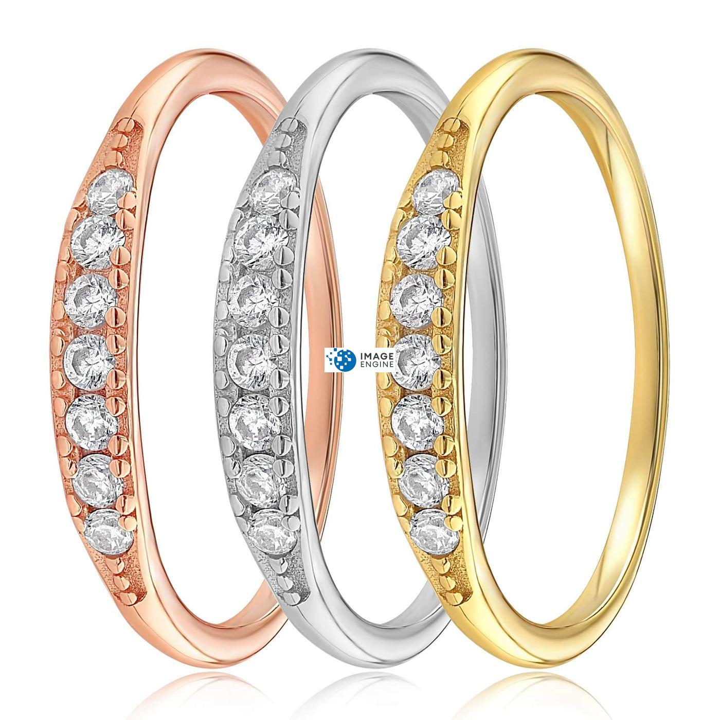 Kathleen Stack Ring - Side by Side - Collection