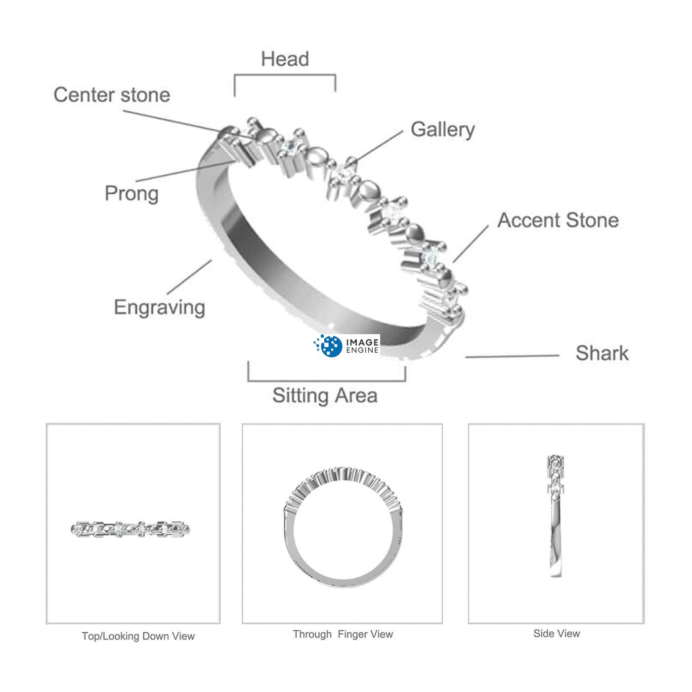 Nicolette Stackable Ring - Parts - Diagram