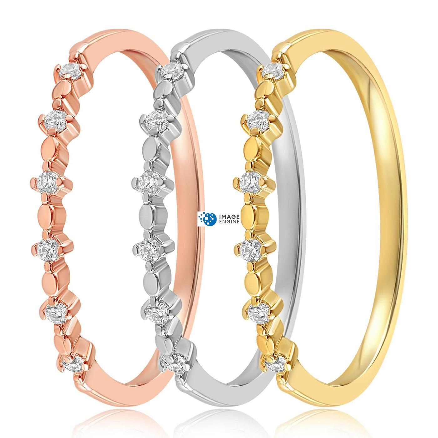 Nicolette Stackable Ring - Side by Side - Collection
