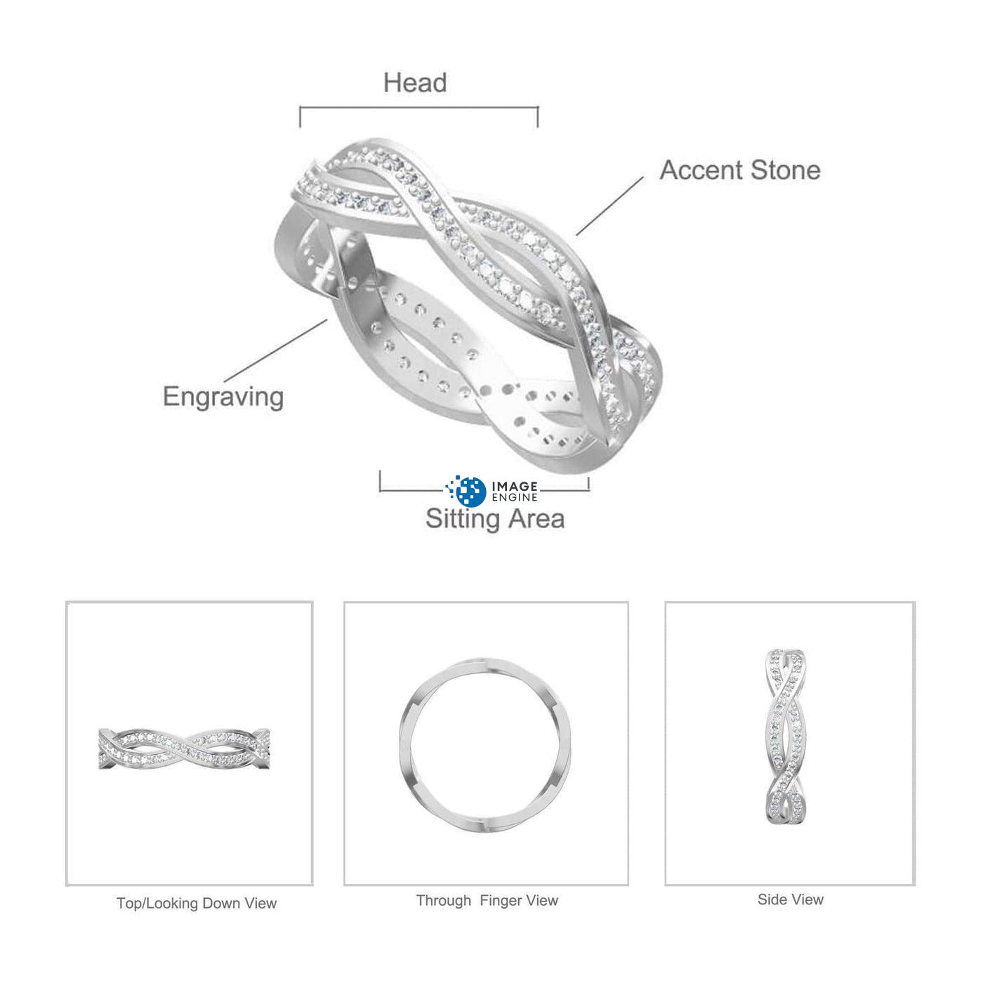 Rebecca Rope Ring Diagram and Specifications
