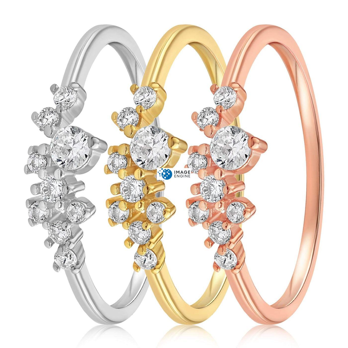 Sasha Sparkle Ring - Side by Side - Collection