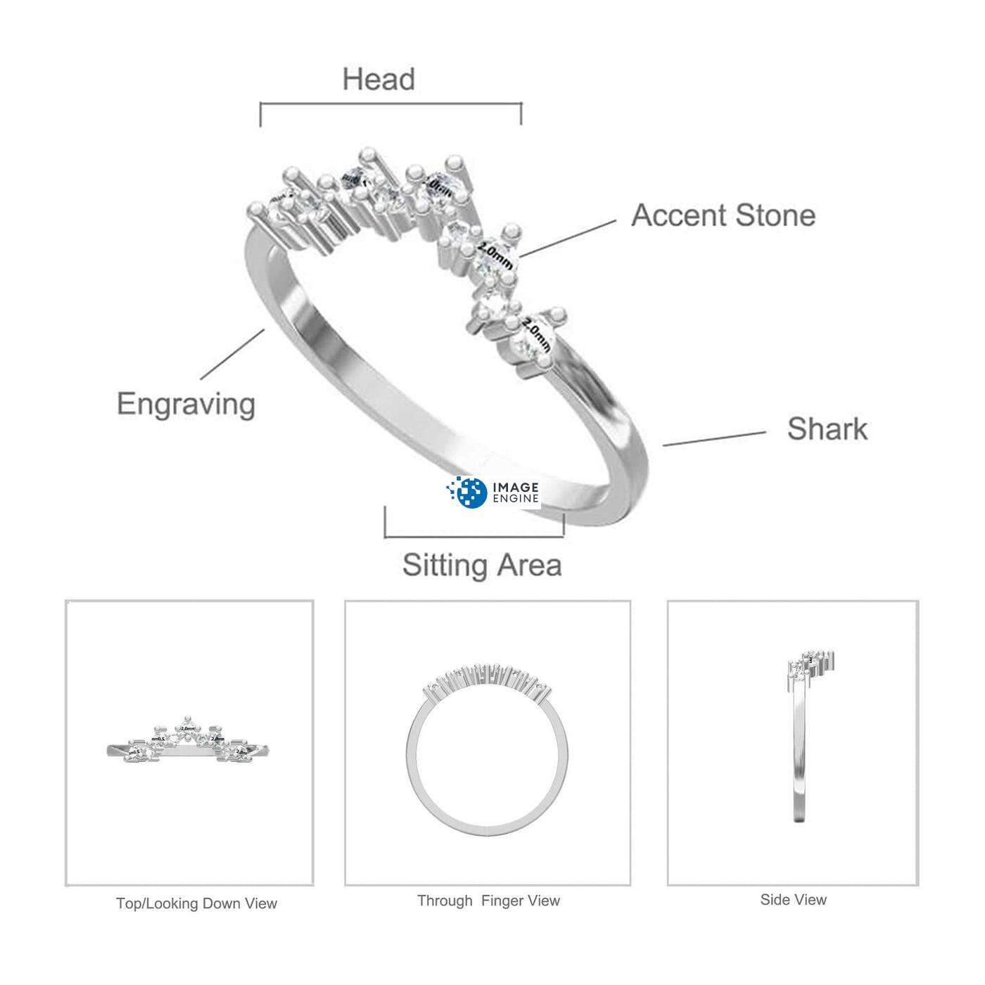 Valerie V Ring Diagram and Specifications