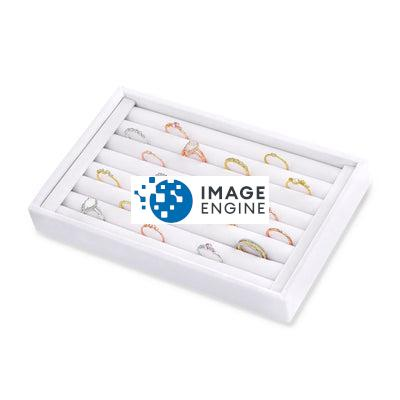 Velvet Ring Organizer - With Random Blush and Blush Ring